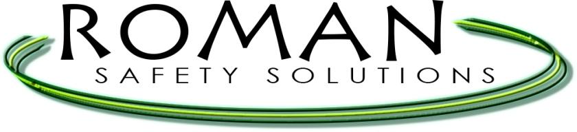 Roman Logo Black